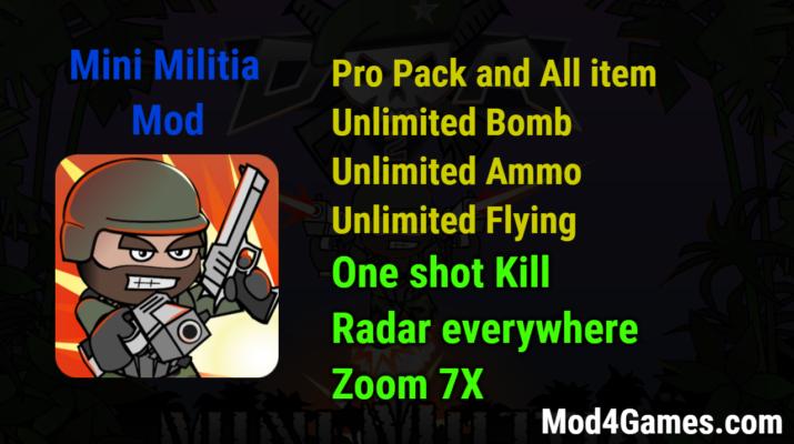 mini militia hack apk download uptodown
