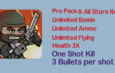 Mini Militia Mod | One shot Kill | Unlimited Nitro + Ammo + Bomb | Health 3X