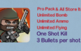 Mini Militia Mod | One shot Kill | Unlimited Nitro + Ammo + Bomb | 3 Bullets per shot