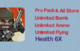 Mini Militia Mod | Unlimited Nitro + Ammo + Bomb | Health 6X