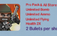 Mini Militia Mod | Unlimited Nitro + Ammo + Bomb | Health 2X | 2 Bullets per shot