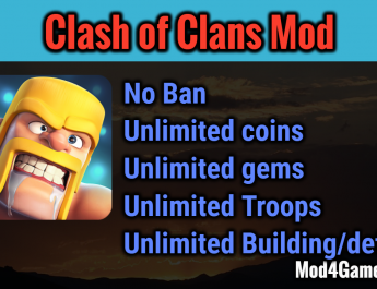 clash of clans hack mod apk 2017