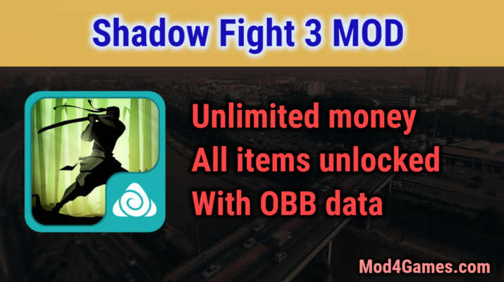 Shadow Fight 3 MOD | Unlimited money + All items unlocked