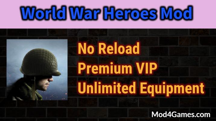 world war heroes mod apk new version
