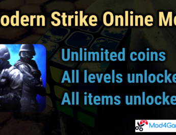 Modern Strike Online Mod | Unlimited coins | All items unlocked | with OBB data
