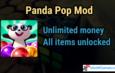 Panda Pop Mod | All Items Unlocked | Unlimited Money
