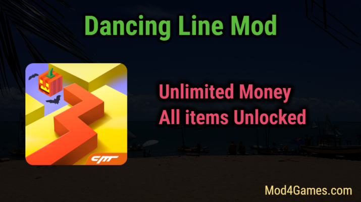 Dancing Line Mod | Unlimited Money + All items Unlocked