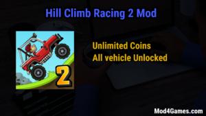 hill climb 2 mod apk all cars unlocked