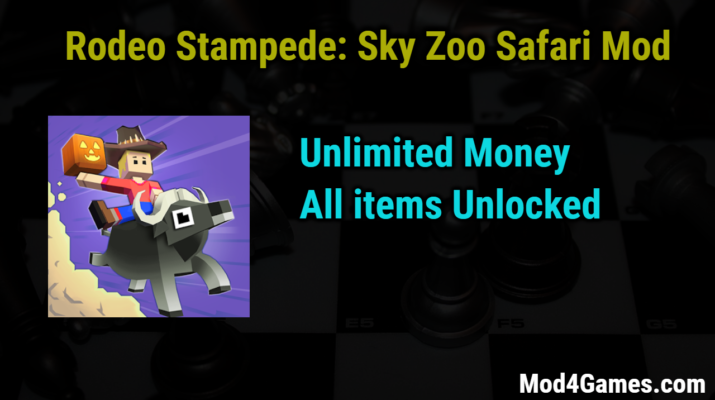 Rodeo Stampede Sky Zoo Safari Mod Unlimited Money All