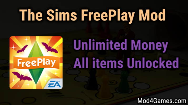 The Sims FreePlay Mod | Unlimited Money + All items Unlocked