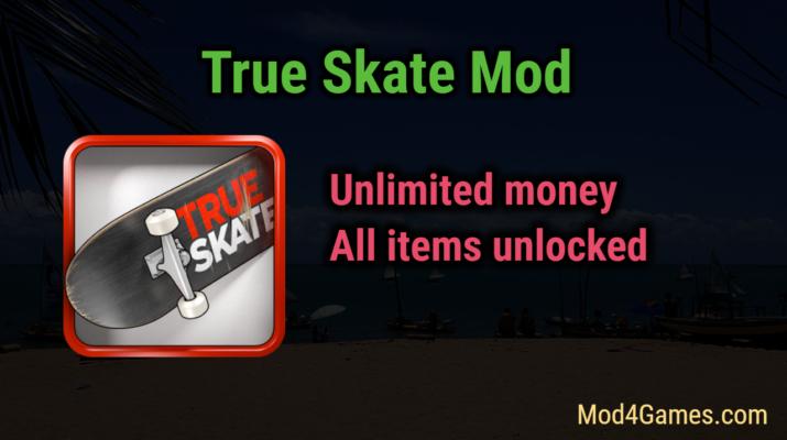 "Image result for True Skate MOD, All Unlocked:"""