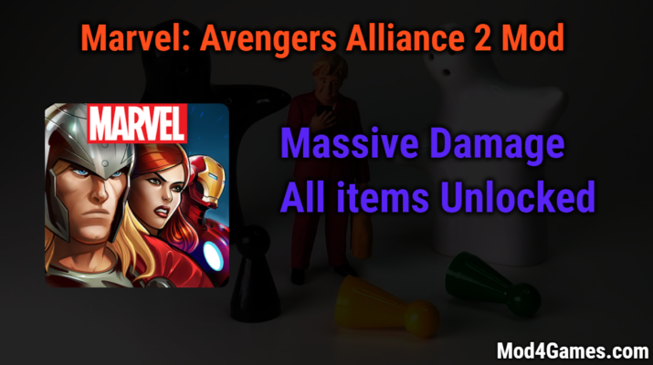 Marvel: Avengers Alliance 2 game mod apk with offline obb