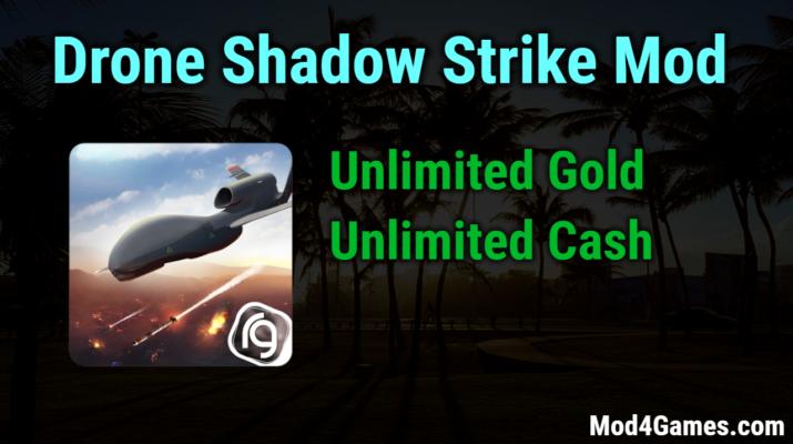 Drone Shadow Strike Mod | Unlimited Gold + Unlimited Cash