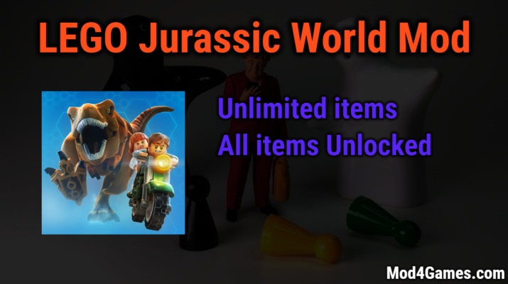 LEGO Jurassic World unlimited money game mod apk free with