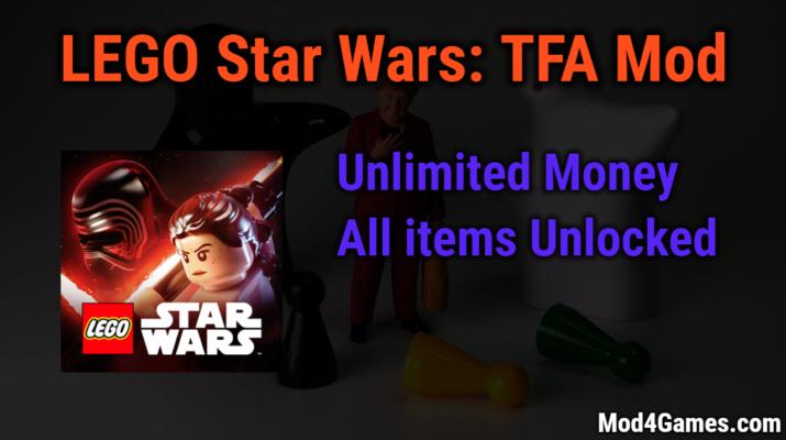 Lego Star Wars Tfa Mod Unlimited Money All Items Unlocked