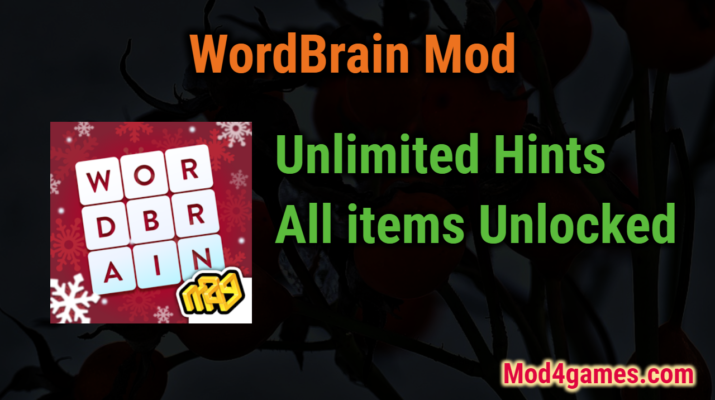 WordBrain unlimited hints game mod apk free Archives