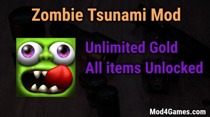 cara download game zombie tsunami mod apk
