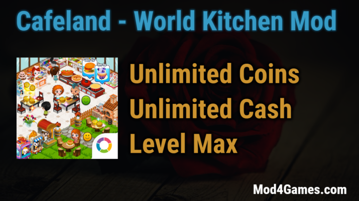 Cafeland world kitchen game mod apk archives for Kitchen queen mod apk