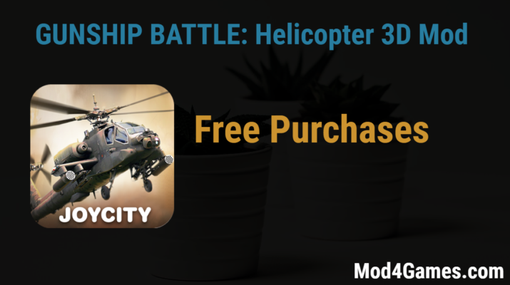 GUNSHIP BATTLE: Helicopter 3D (2 5 70) Free Purchases game
