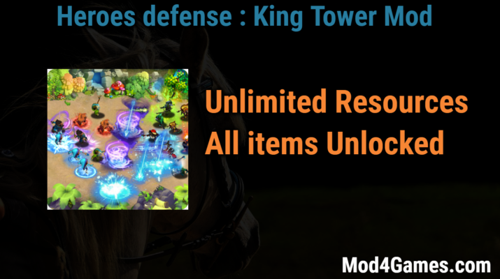 tower defense king mod apk