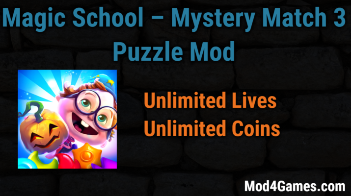Magic School – Mystery Match 3 Puzzle modded game apk free ...