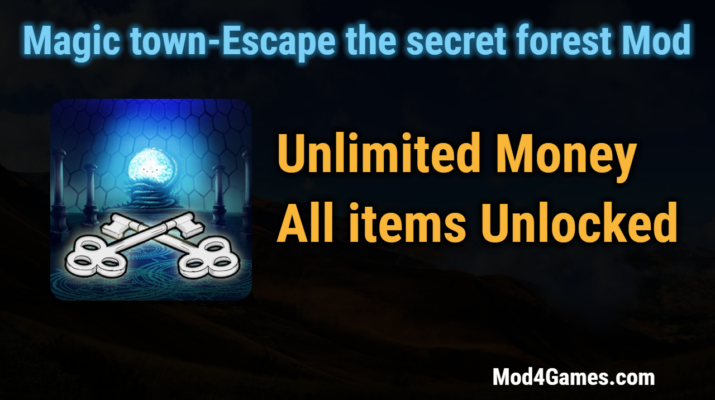 Magic town escape the secret forest game mod apk archives for Secret escape games