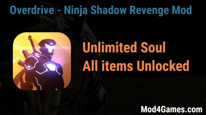 download permainan overdrive ninja shadow revenge mod apk