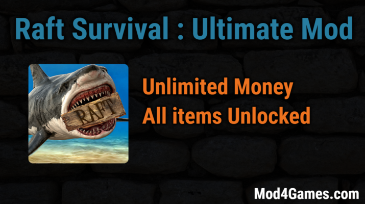 Raft Survival : Ultimate Mod | Unlimited Money + All items