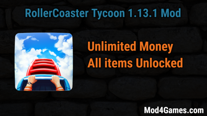 RollerCoaster Tycoon® 4 Mobile (1 13 1) Unlimited Money game mod apk
