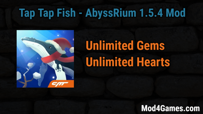 Tap tap fish abyssrium 1 5 4 modded game apk free for Tap tap fish game