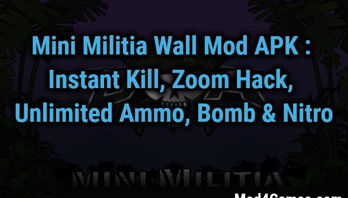 mini militia invisible hack download 2018